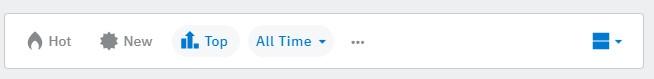 Reddit community filter