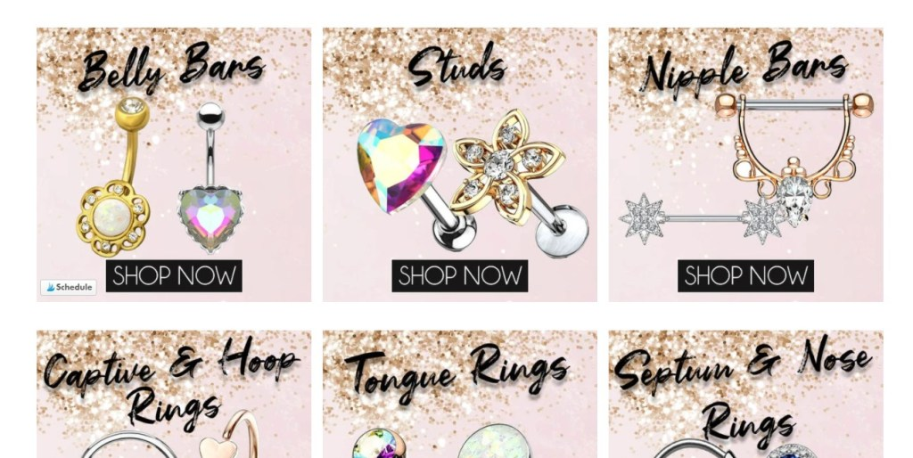 CherryDiva dropshipping store homepage