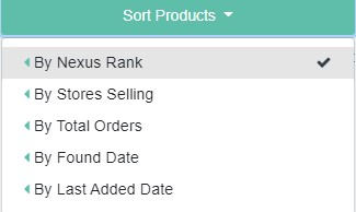 Sell The Trend's product sorts