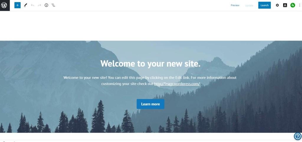 WordPress.com block editor