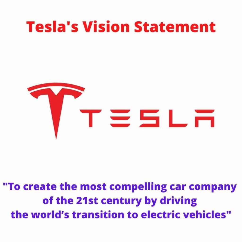 Tesla vision statement