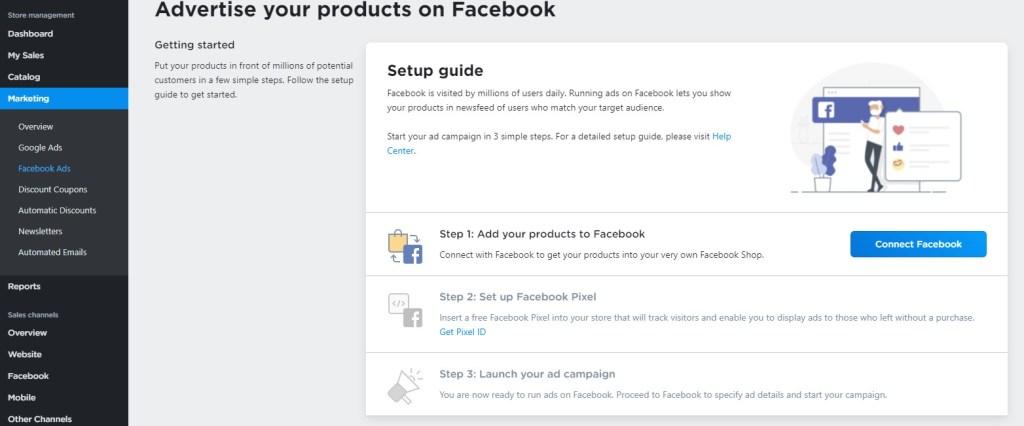 Ecwid Facebook ads