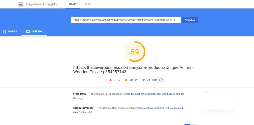 Ecwid product page performance