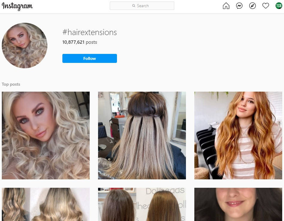 Instagram influencers for hair extensions