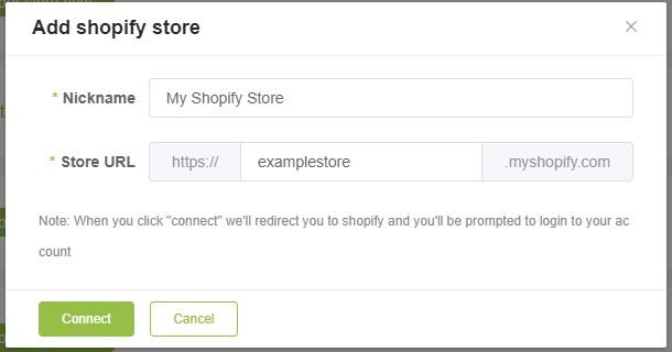 MyyShop Shopify setup popup