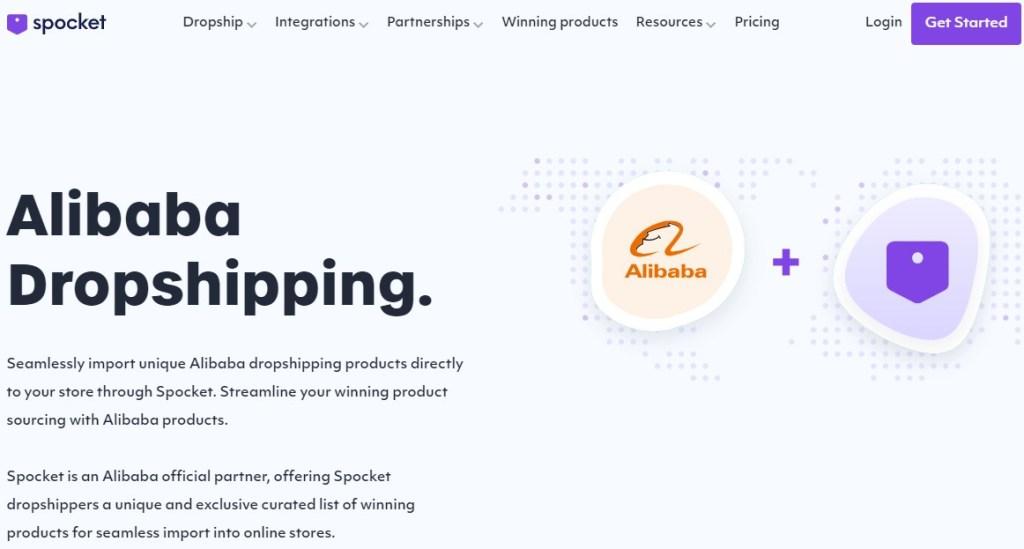 Spocket Alibaba dropshipping app