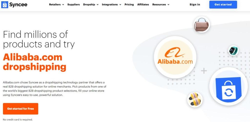 Syncee Alibaba dropshipping app