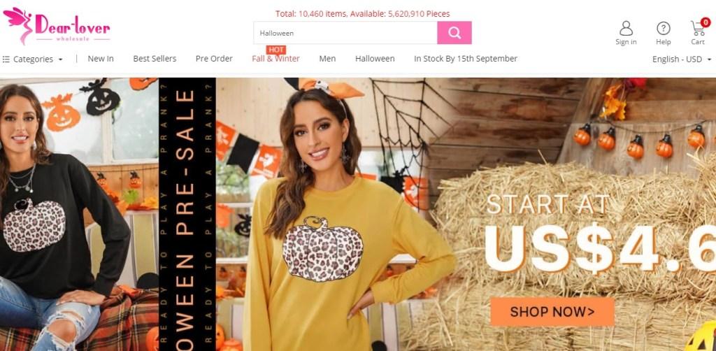 Dear-Lover cheap fashion clothing wholesaler