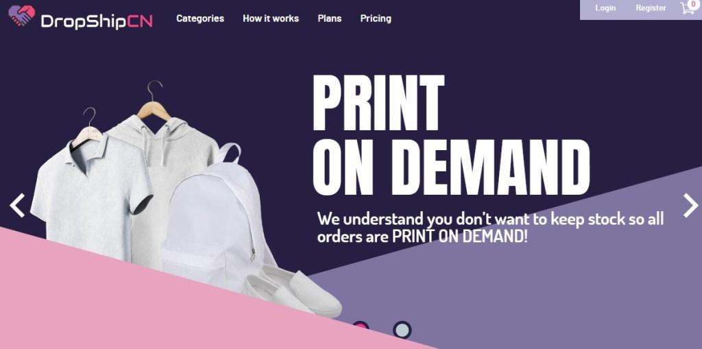 DropshipCN fashion clothing manufacturer in China