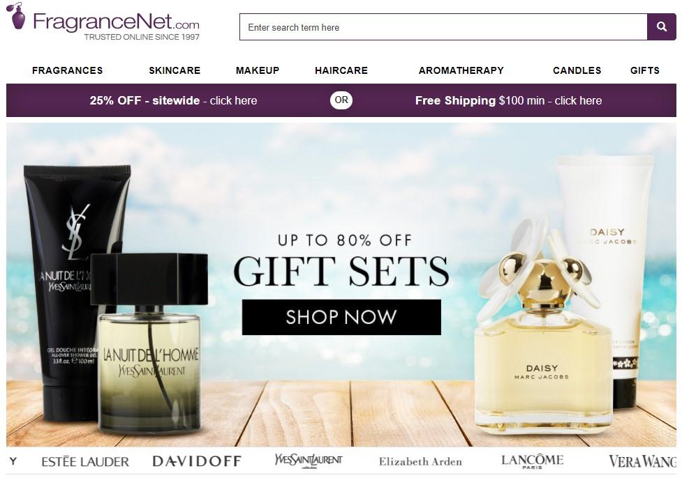 Fragrancenet brand name dropshipping supplier