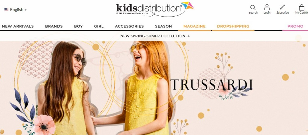 KidsDistribution brand name dropshipping supplier