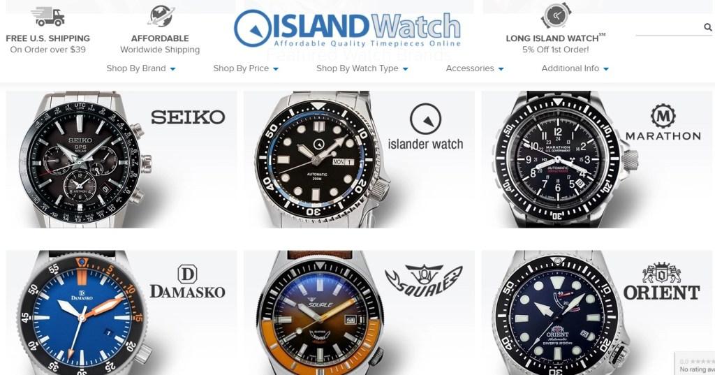 Long Island Watch dropshipping store