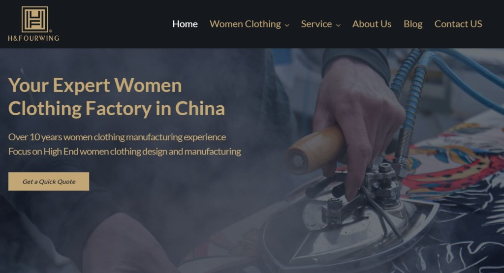 Hfourwing fashion clothing manufacturer in China