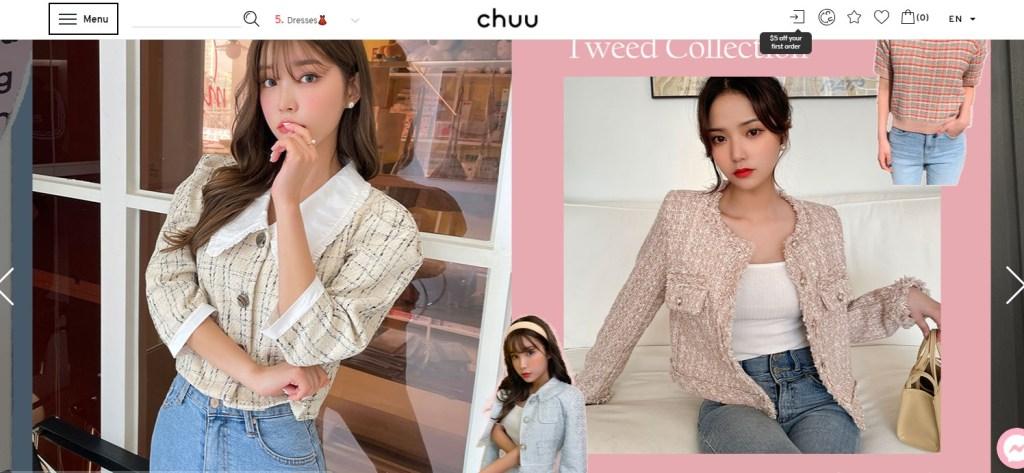 Chuu Korean fashion clothing wholesale supplier