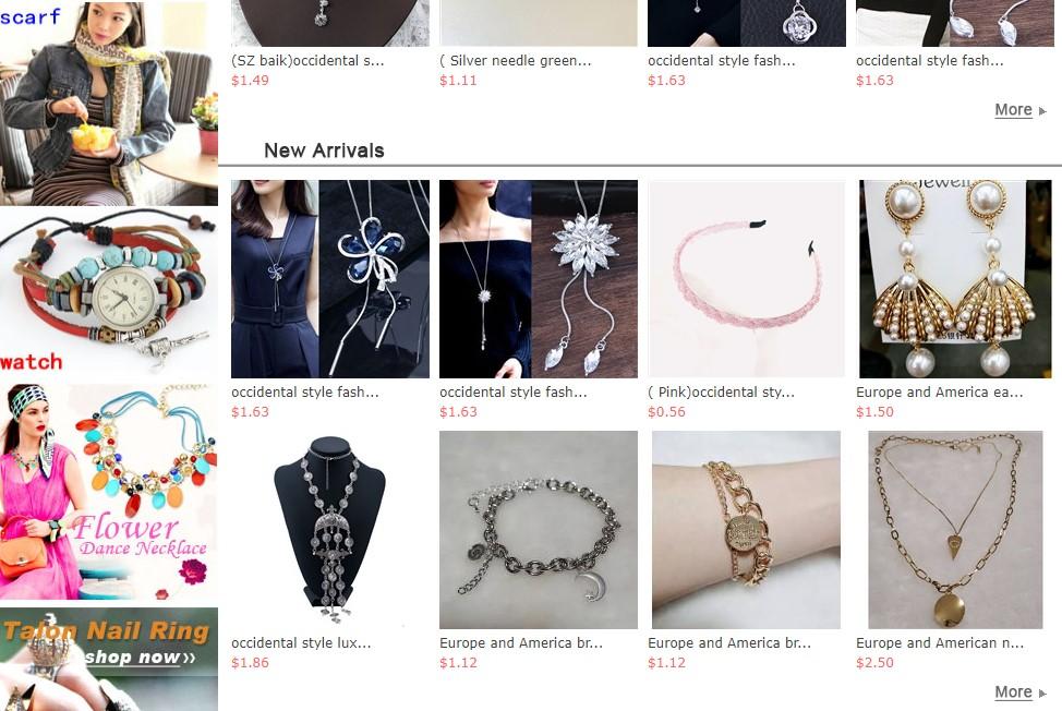Eeiei wholesale Korean jewelry supplier