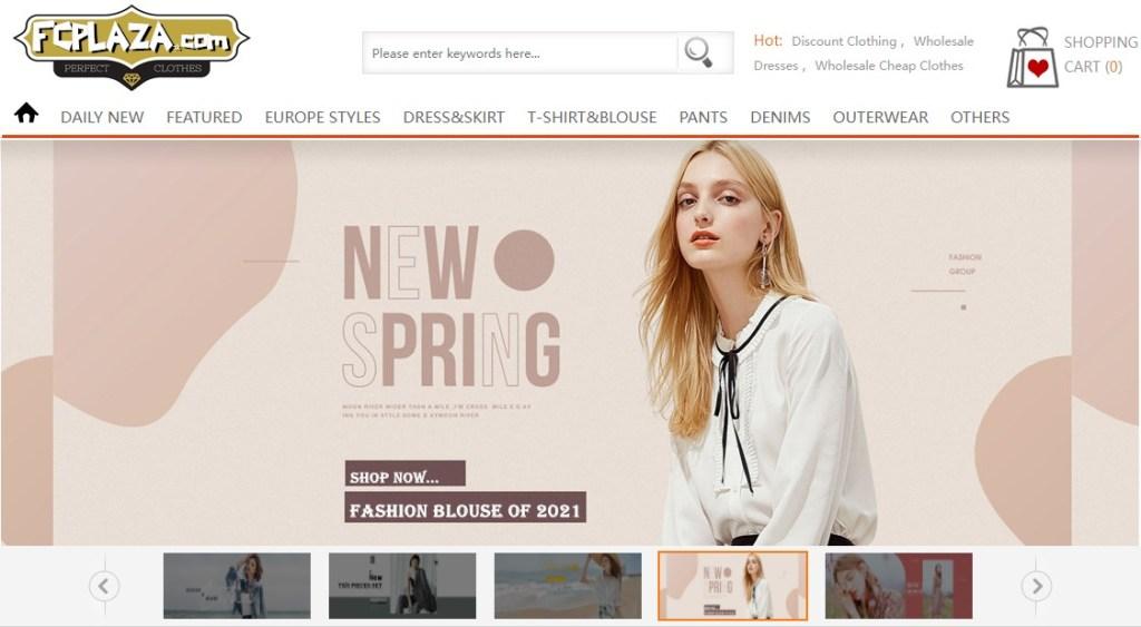 FcPlaza cheap fashion clothing wholesaler