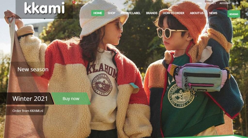 Kkami Korean fashion clothing wholesale supplier