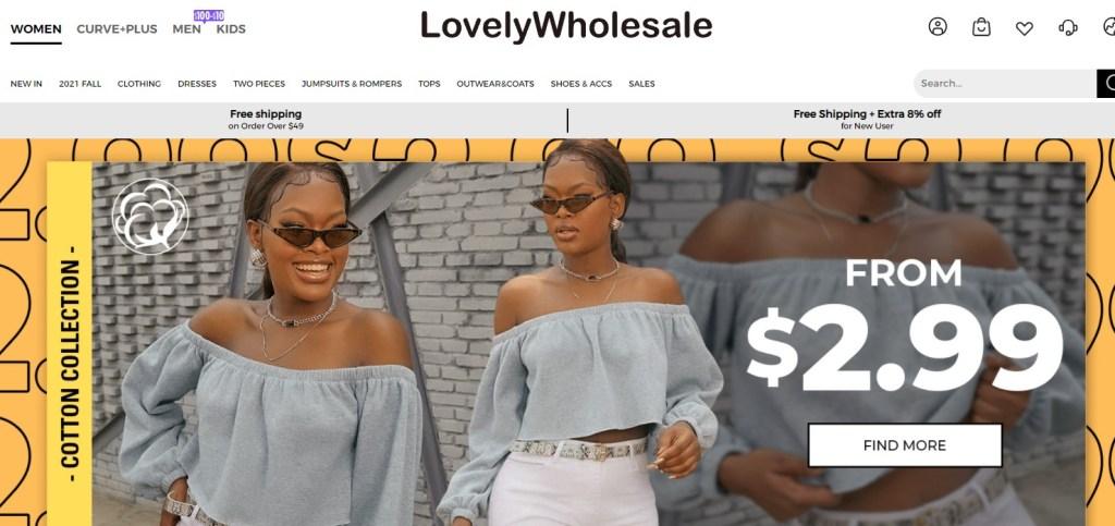 LovelyWholesale Chinese fashion clothing wholesalers with fast free worldwide shipping