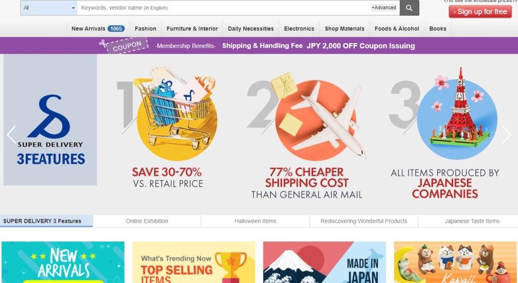 SuperDelivery Asian wholesaler & wholesale distributor