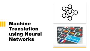 Machine Translation Model