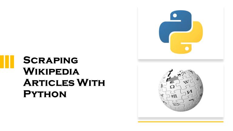 Scrape Wikipedia With Python