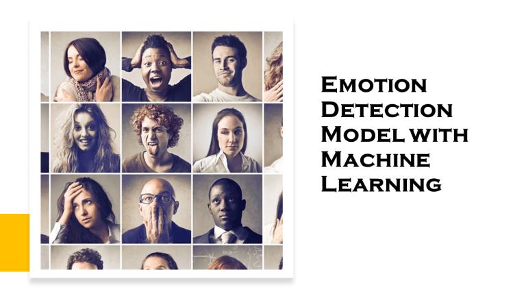 Emotion Detection Model