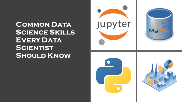 Data Science Skills: Every Data Scientist Should Know