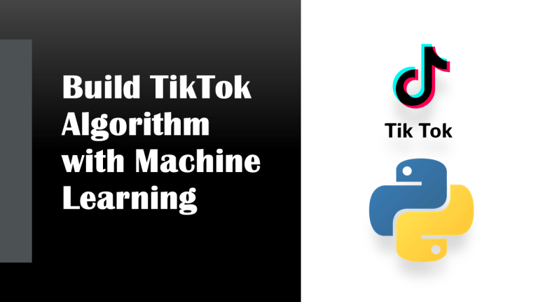 TikTok Algorithm with Machine Learning