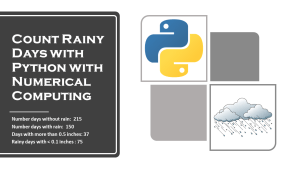 Count Rainy Days with Python