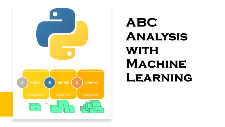 ABC Analysis with Machine Learning