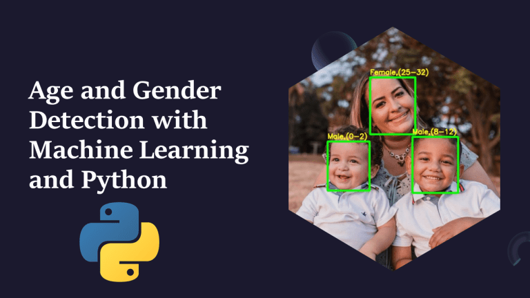 Age and Gender Detection with Python