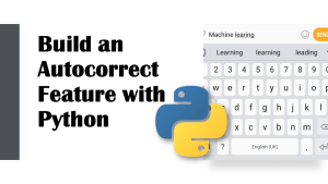 Autocorrect with Python