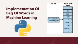 Bag Of Words in Machine Learning with Python