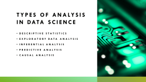 Types of Analysis in Data Science