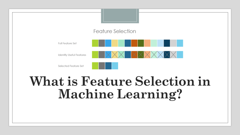 Feature Selection in Machine Learning