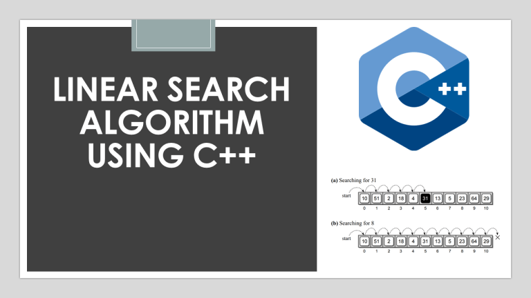 Linear Search in C++