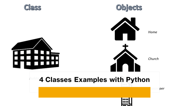 Classes Examples with Python