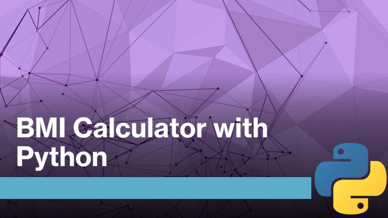 BMI Calculator with Python