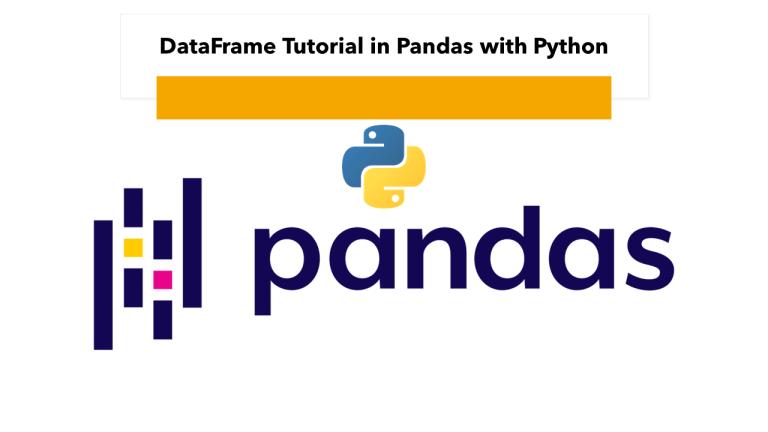 Pandas DataFrame with Python