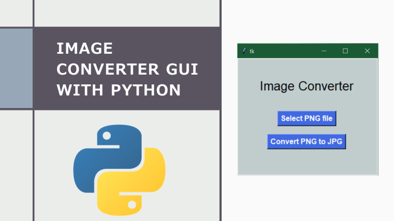 Image Converter GUI with Python