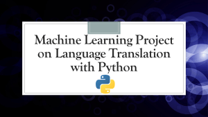 Language Translation with Python