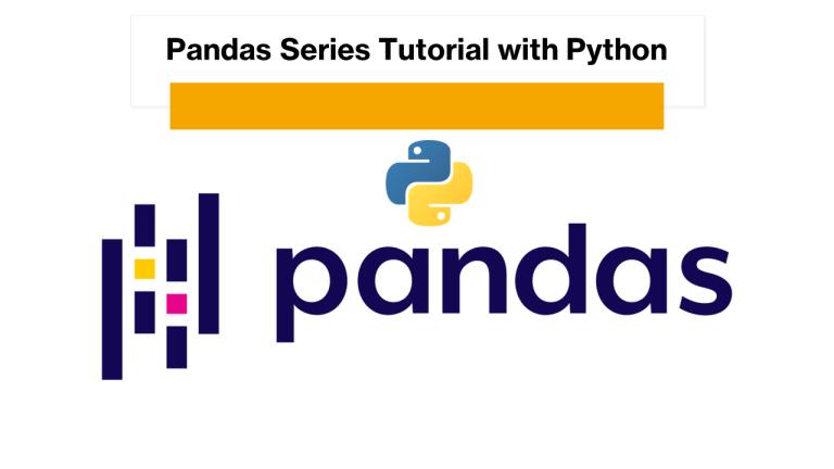 Pandas Series with Python