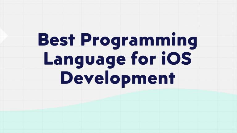 Best Programming Language for IOS Development