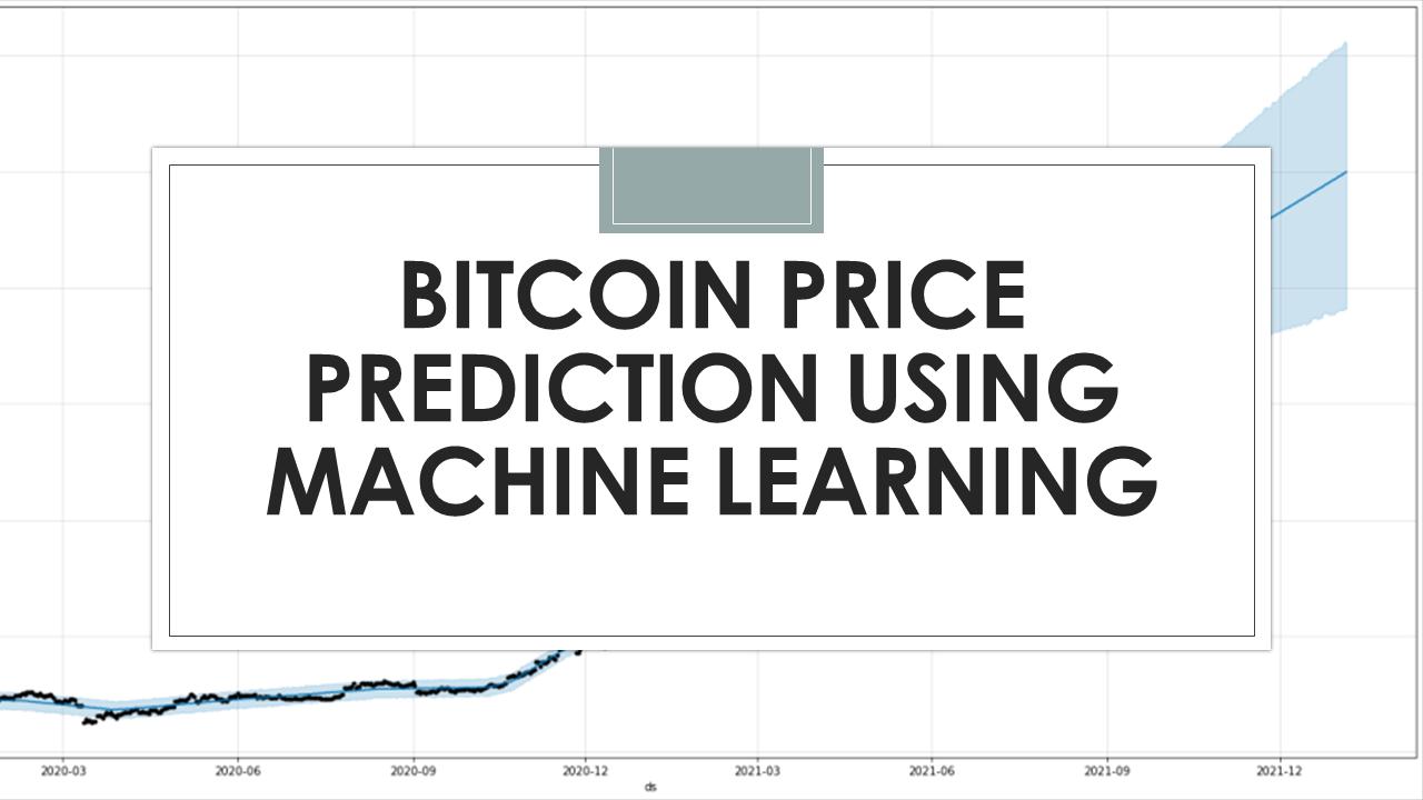 machine learning bitcoin python)
