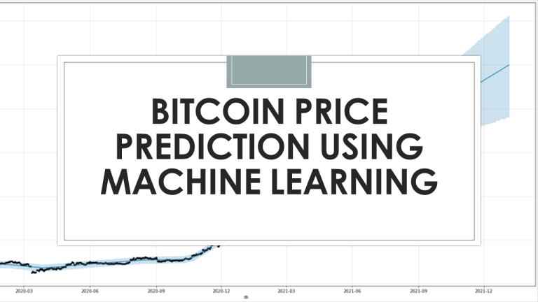 Bitcoin Price Prediction with Python