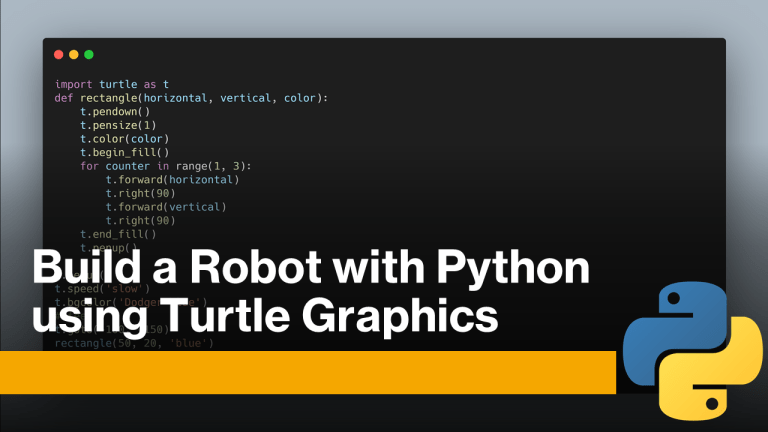 Build a Robot with Python