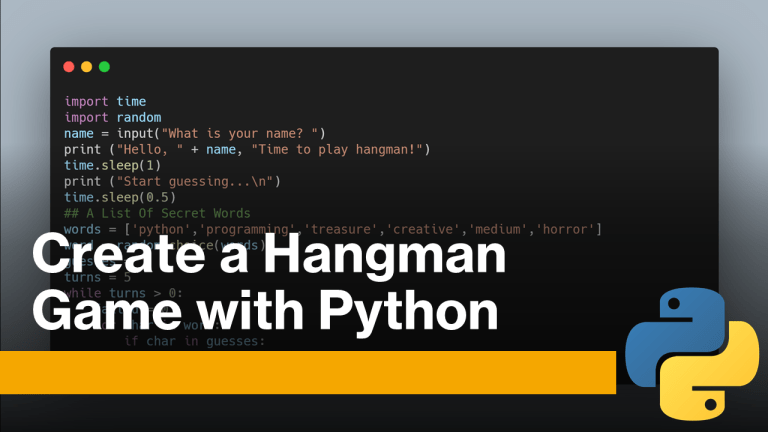 Hangman Game with Python