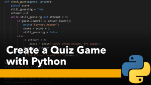 Create a Quiz Game with Python