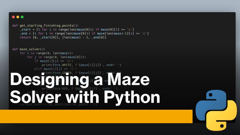 Maze Solver with Python