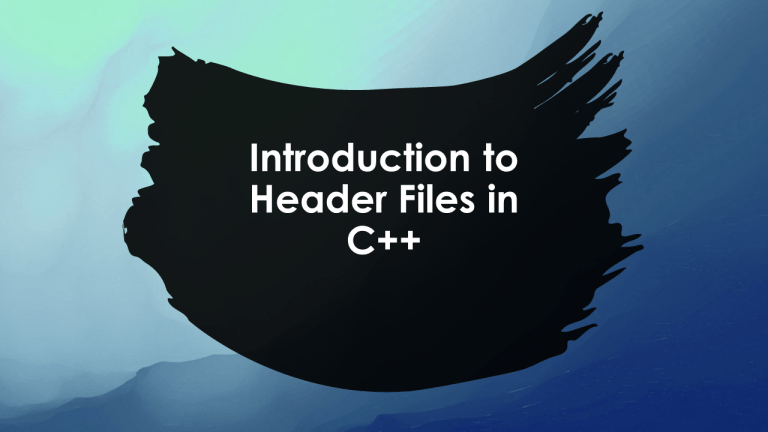 Header Files in C++